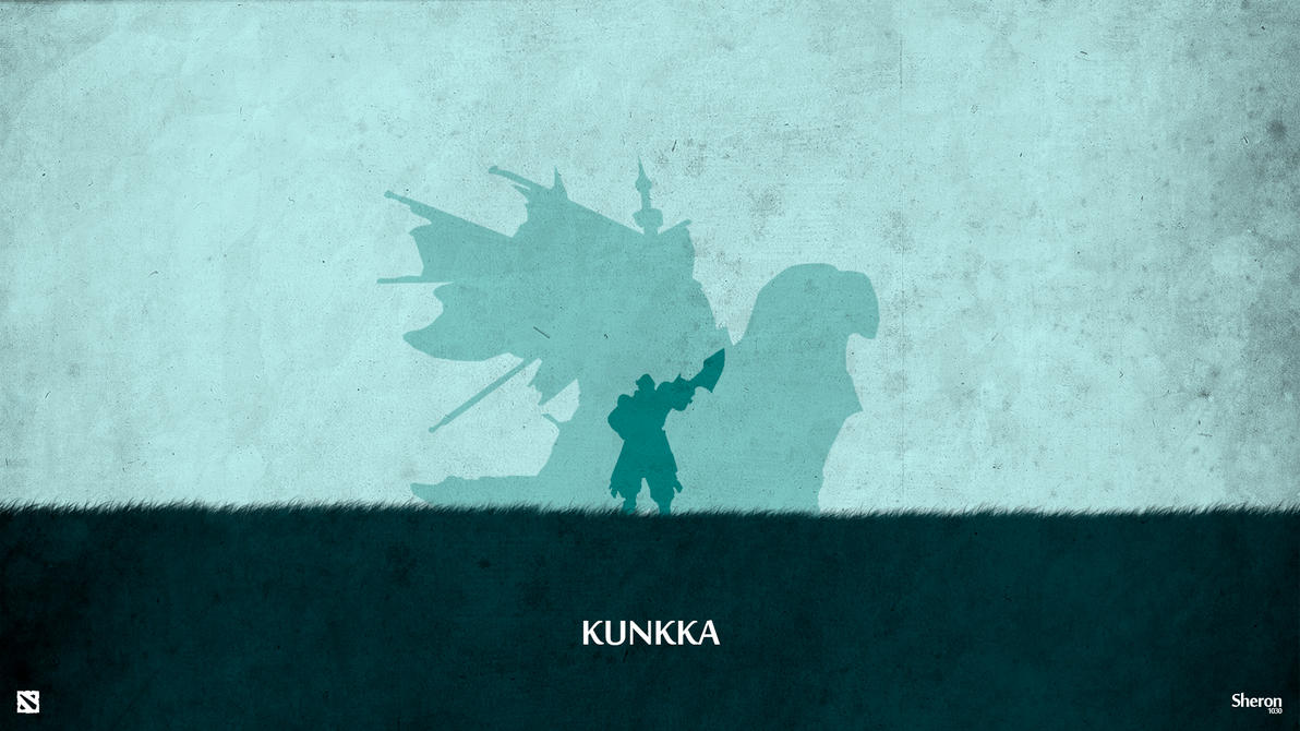 dota 2 kunkka wallpaper by sheron1030 on deviantart
