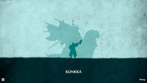 Dota 2 - Kunkka Wallpaper by sheron1030