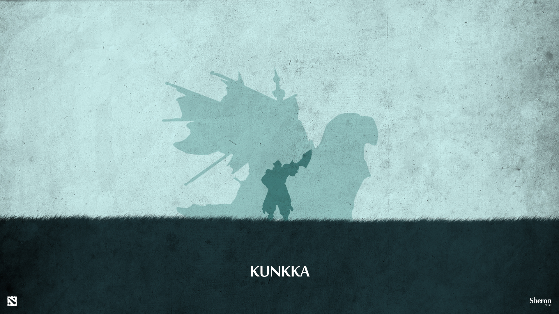 Dota 2 - Kunkka Wallpaper by sheron1030