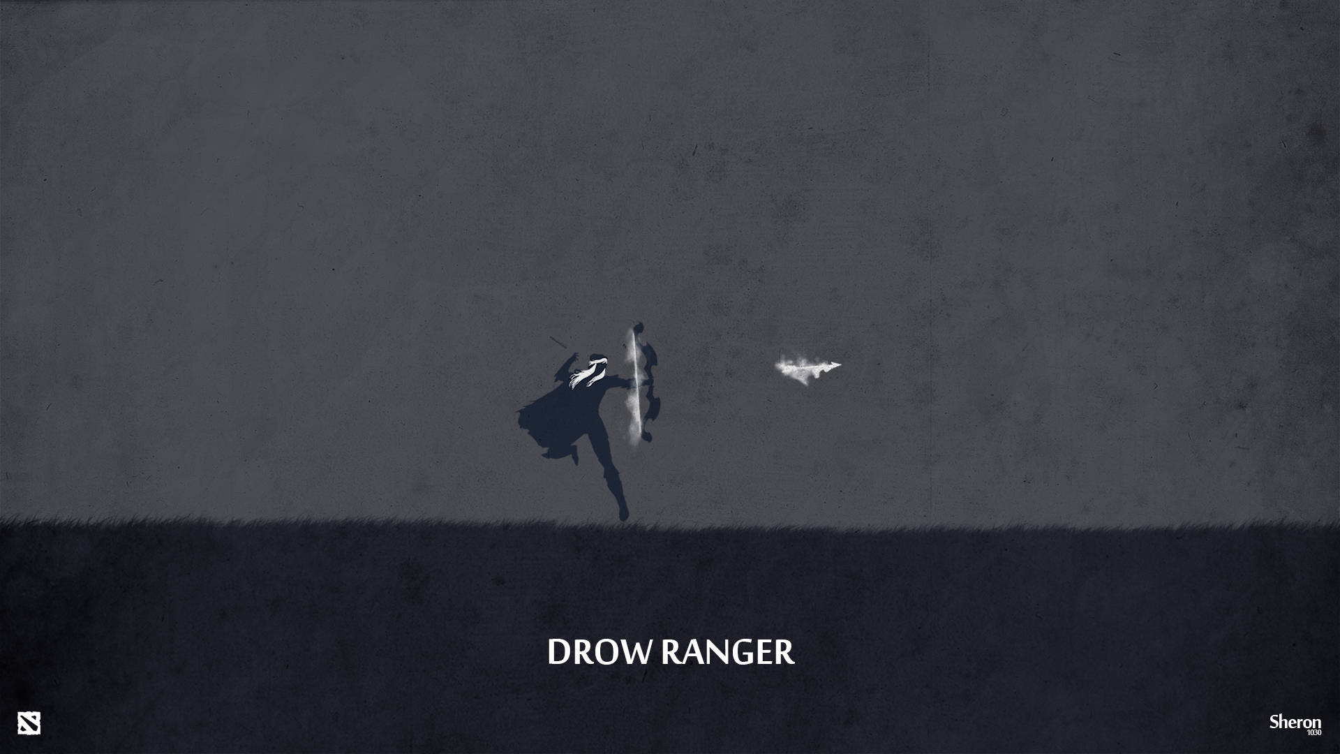 Dota 2 - Drow Ranger Wallpaper by sheron1030