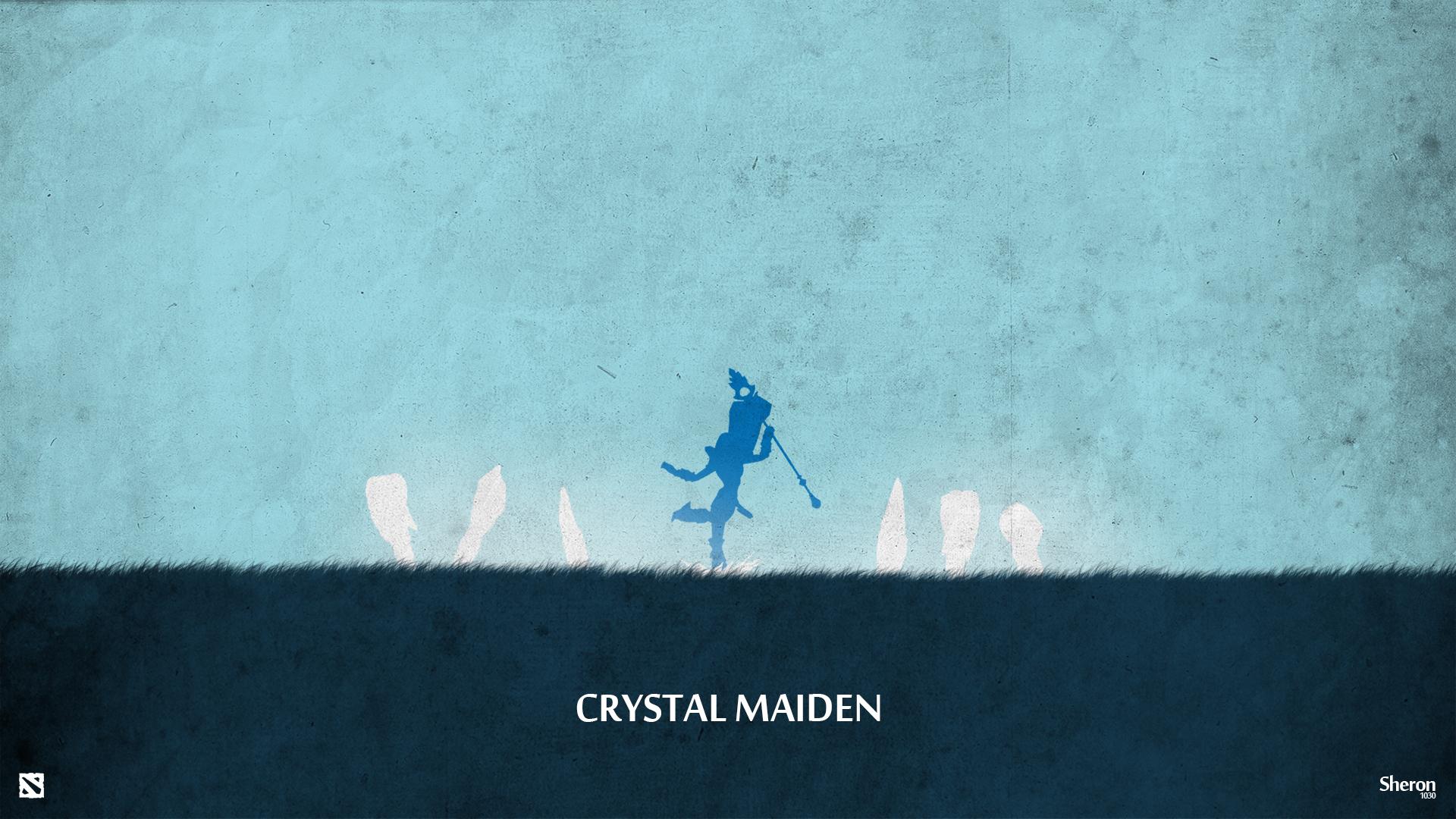 Dota 2 - Crystal Maiden Wallpaper by sheron1030Dota Wallpaper Crystal Maiden