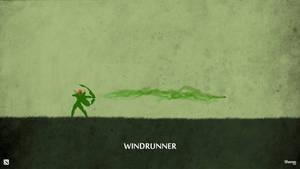 Dota 2 - Windrunner Wallpaper by sheron1030