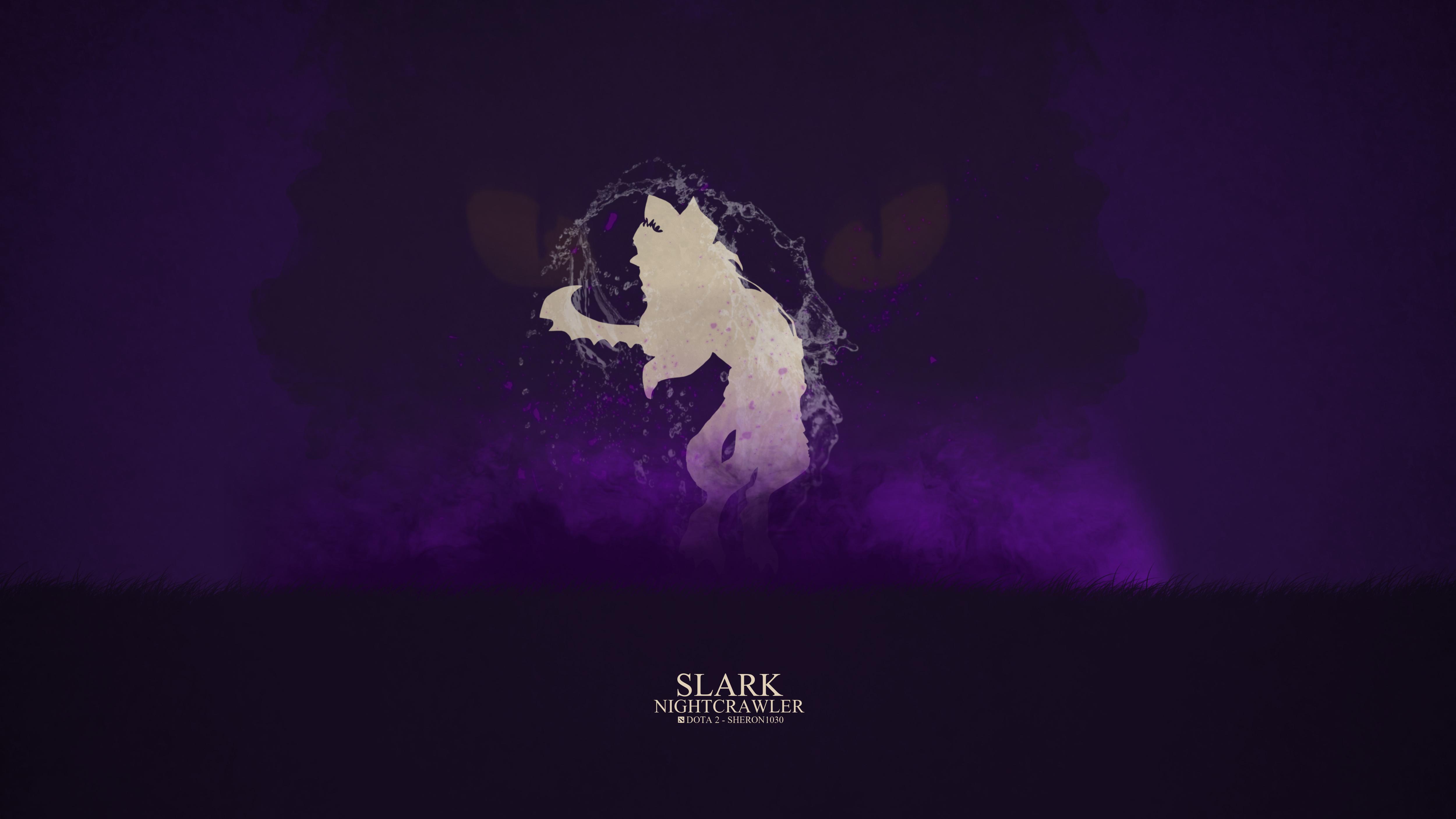 Night Stalker Dota 2 Wallpaper Dota 2 - Slark by sher...