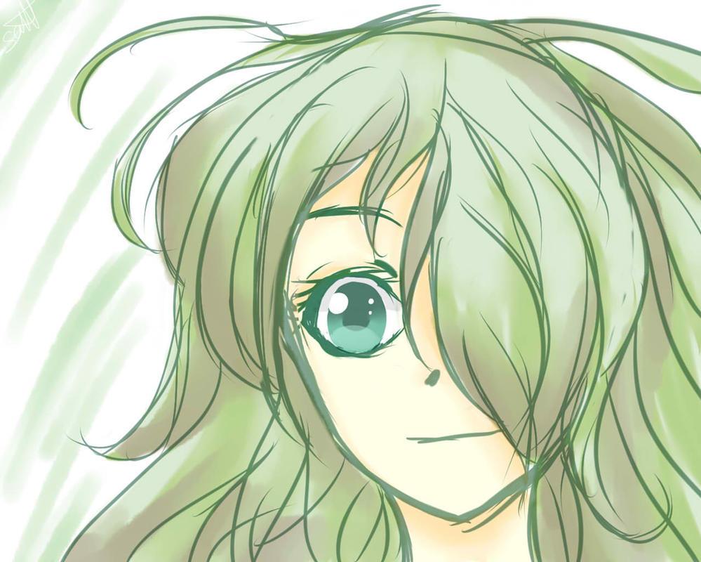 Green Girl~ by Saracaa