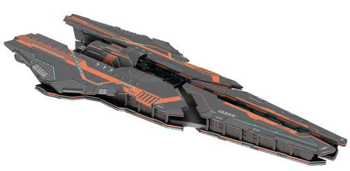 Farragut class BattleCrusier