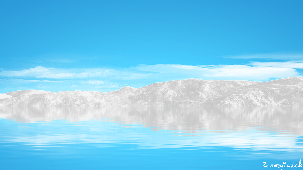Azure Mountain Lake by 2Crazy4Nick