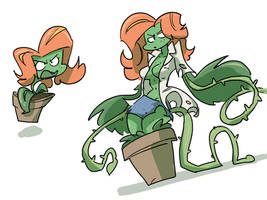 Plant Woman Concept by Doh-I-Missed