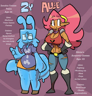 Allie and Zy Bios