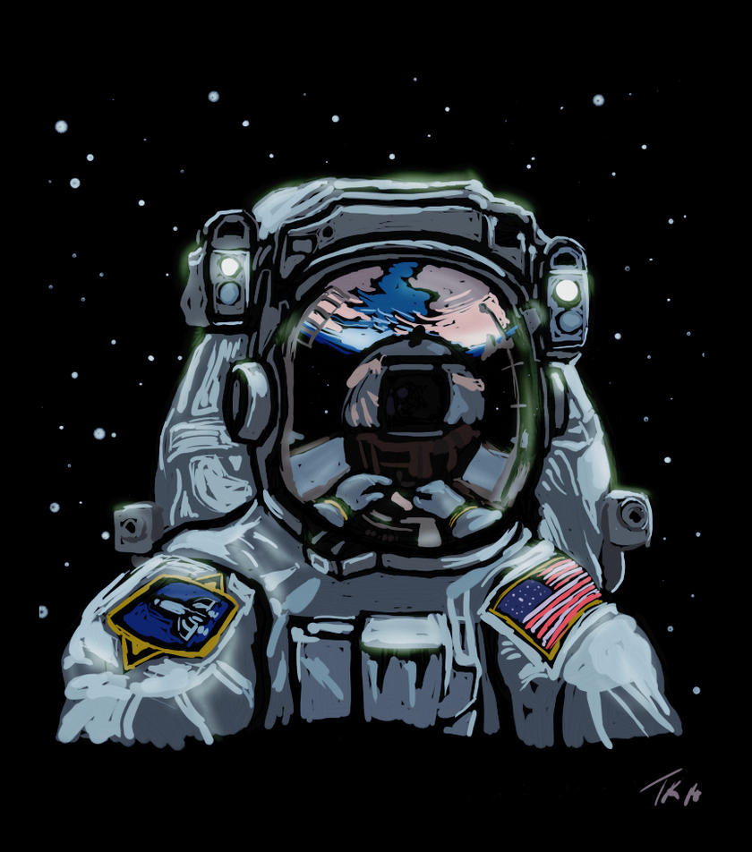 NOVART17 - Astronaut by Destro7000