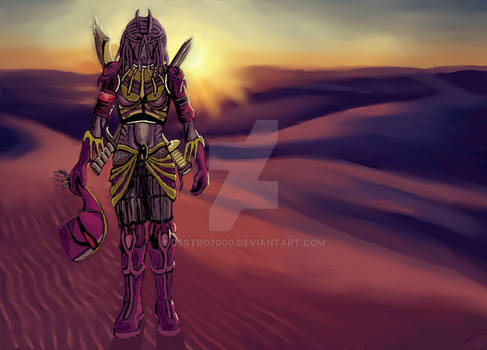 [Augpaintings] 6th - Jebasnine desert Helmoff