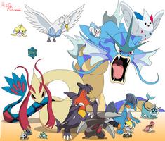 My Top Favourite Pokemon