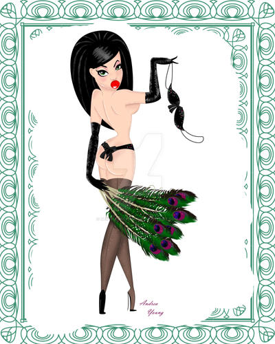 Burlesque Ivy by sexyillustrator