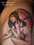 Hip Tattoo Colored