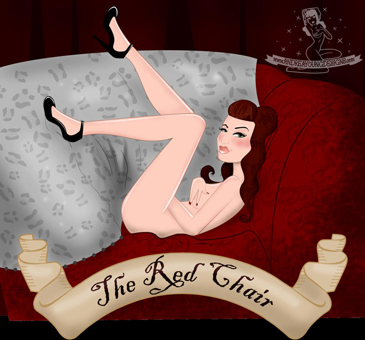 The Red Chair Illustration by sexyillustrator
