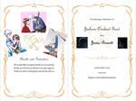 Jack Frost and Jamie Bennett Wedding Invitation