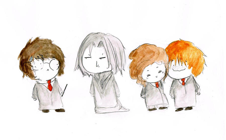 Harry Potter Chibis by Carobliviate