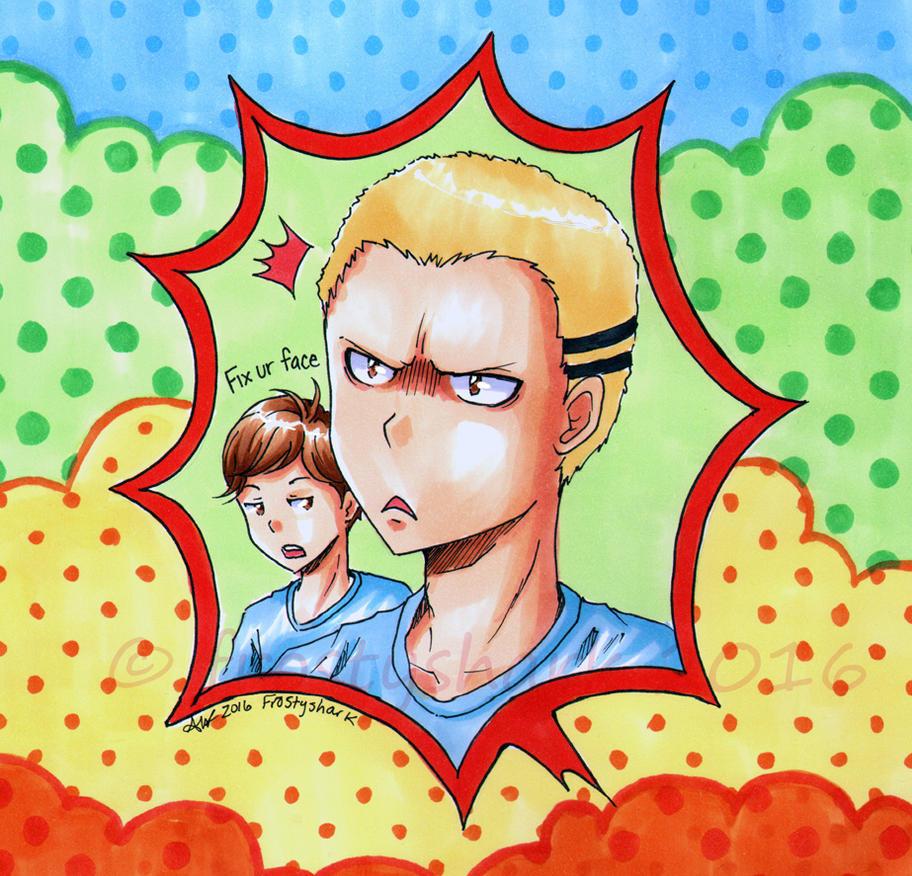 Kentaro and Shigeru by frostyshark