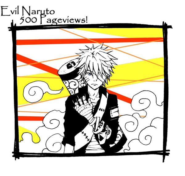 Evil Naruto::500:: by frostyshark on DeviantArt