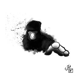 Urban Gorilla by archimonde35