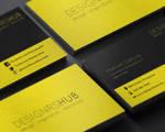 Free Minimal Business Card Design PSD Template