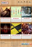 Free Web Portfolio Layout PSD Template
