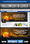Free Facebook Timeline Template: Happy Halloween!
