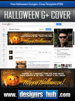Free Google+ Cover Template: Happy Halloween! by MGraphicDesign