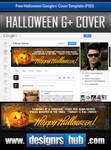 Free Google+ Cover Template: Happy Halloween!