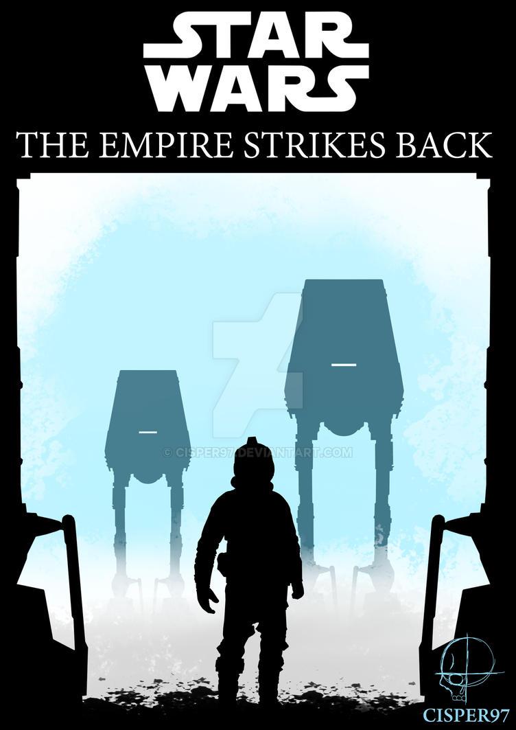 Star wars the empire strikes back by Cisper97