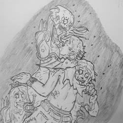 Quarantine Zone Z (doodle) by Cisper97