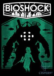 BIOSCHOCK poster (remastered) by Cisper97