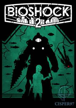 BIOSHOCK 2 poster (remastered)