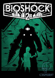 BIOSHOCK 2 poster (remastered) by Cisper97