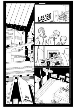 Quarantine Zone Z 1 page 17 no color or speech