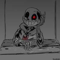 Horrortale Sans by telurio52