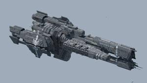 Minecraft Halo: UNSC Paris-Class Heavy Frigate