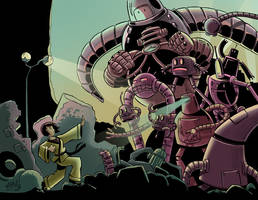 Yoshimi vs The Pink Robots by mikemaihack