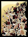 Raving Rabbids by mikemaihack