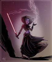 Darth Xia-lia by mikemaihack