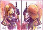 Black Widow 2-sided PSC