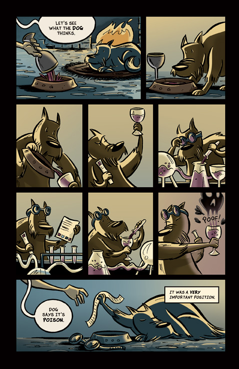Nehemiah Pg 3 by mikemaihack