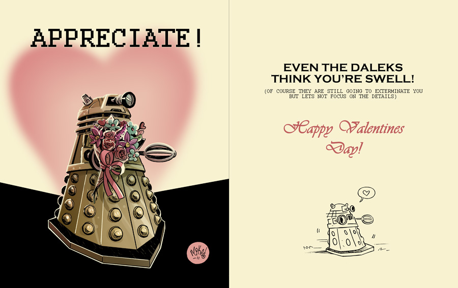 Daleks in Love by mikemaihack