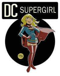 Supergirl Corner by mikemaihack