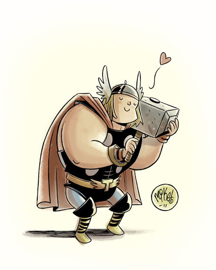 the mighty thor by mikemaihack