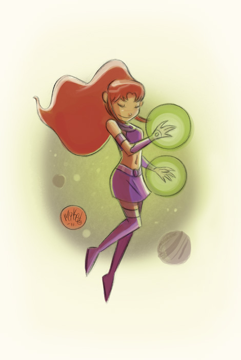 Starfire by mikemaihack