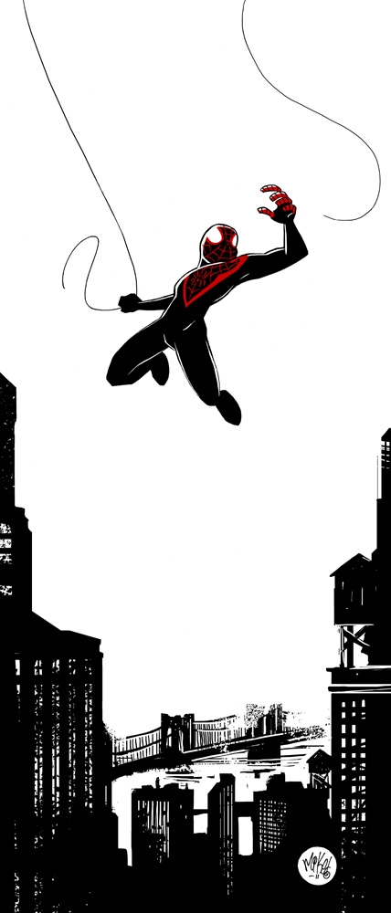 Ultimate Spidey by mikemaihack
