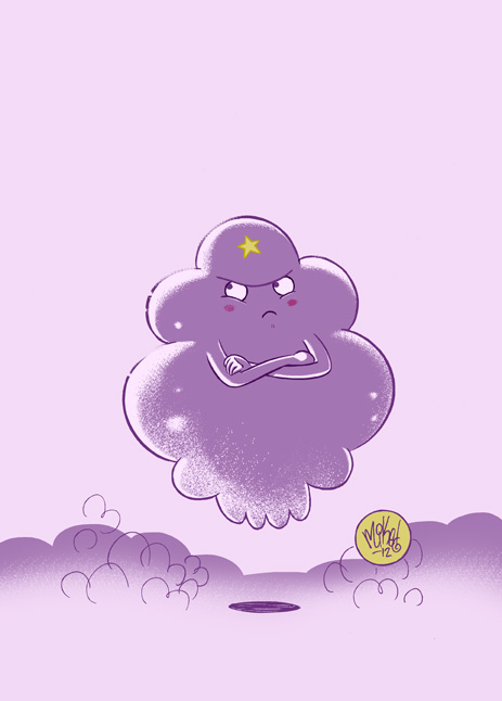 Lumpy Space Princess by mikemaihack