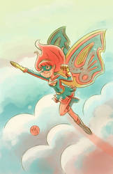 Pixie Power by mikemaihack