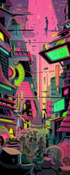 Hykosis City by mikemaihack
