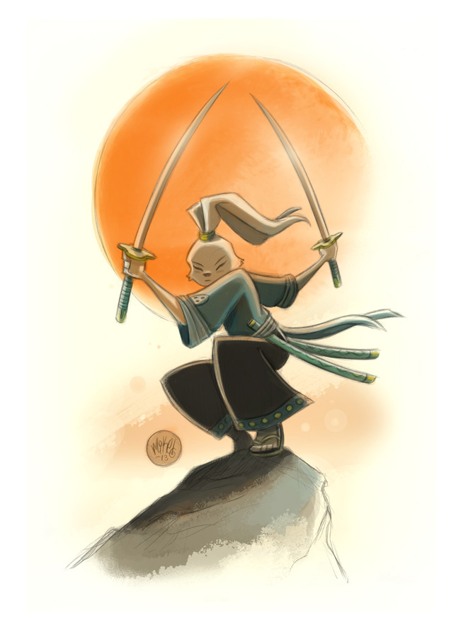 Usagi Yojimbo by mikemaihack